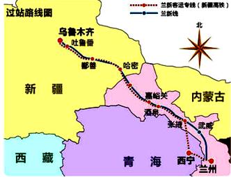 兰州至乌鲁木齐高速铁路时速设计,最重要的限制性自然